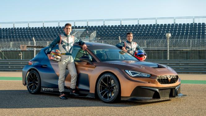H CUPRA θα αγωνιστεί στο WTCR 2021 με τους Jordi Gené και Mikel Azcona στο τιμόνι του CUPRA Leon Competición
