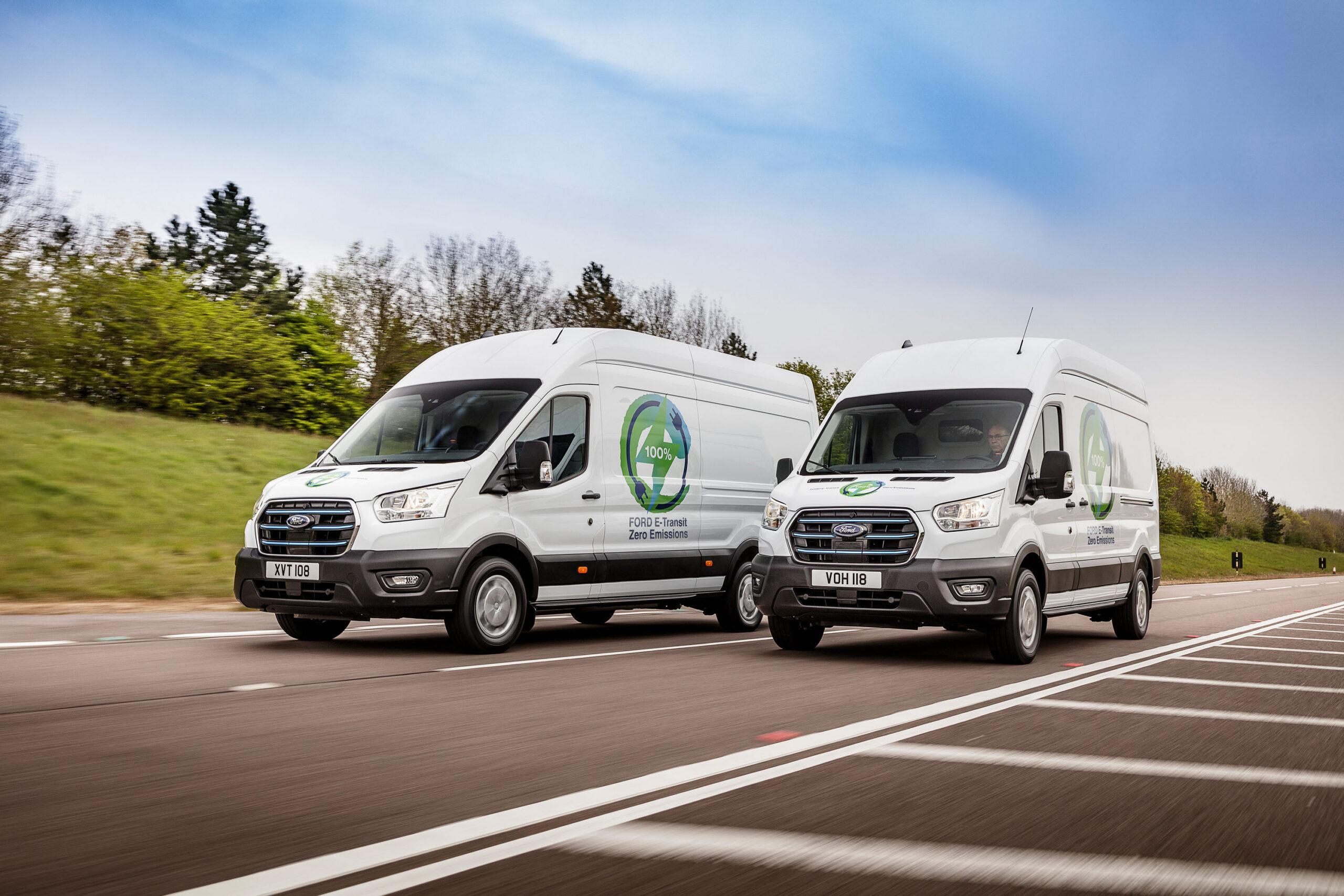 Η Ford ανακοινώνει το πρόγραμμα δοκιμών με Ευρωπαίους πελάτες για το νέο αμιγώς ηλεκτρικό E-Transit Van